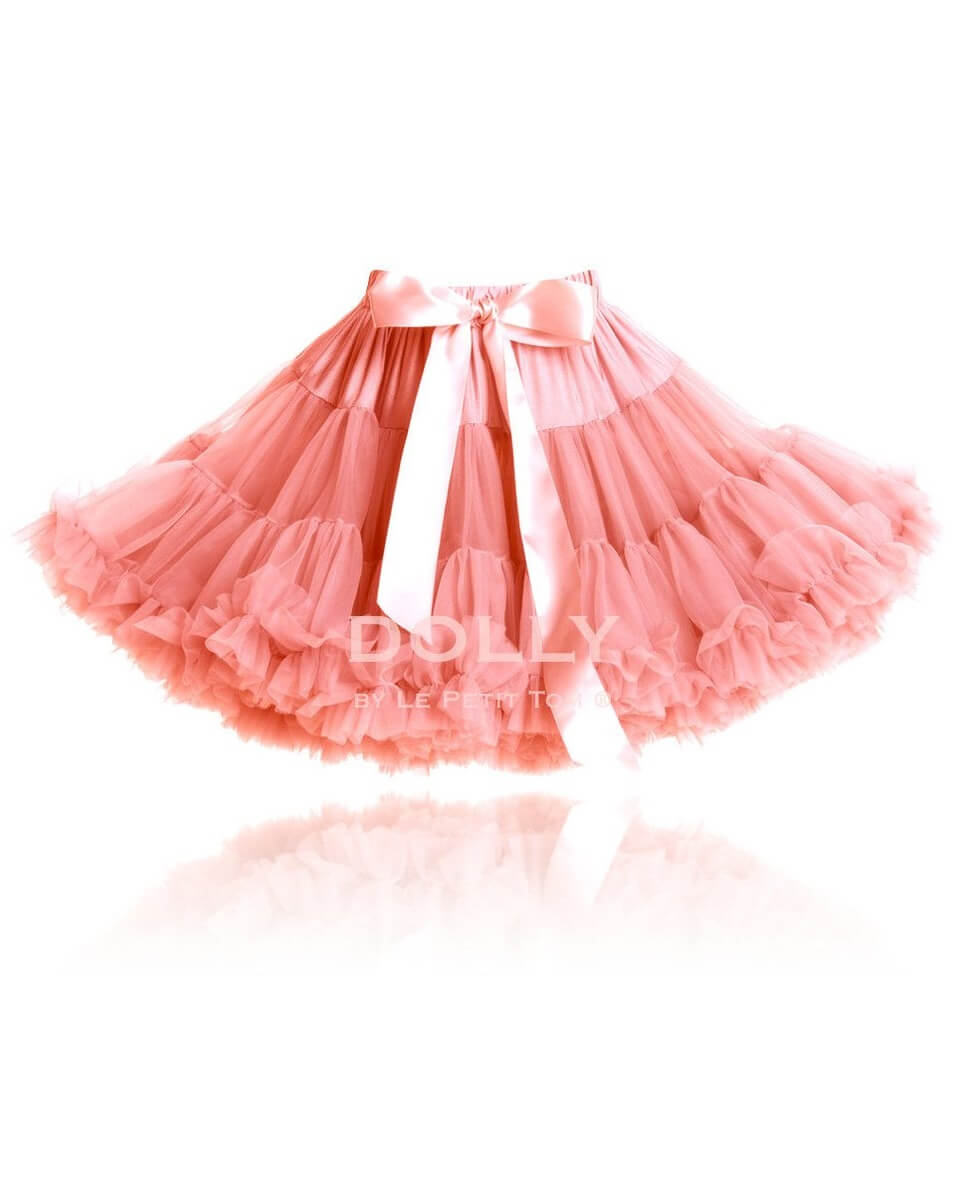 2b297fc69634d Coral Chiffon Tutu Pettiskirt, Queen of Fairies | MyLittleCeleb