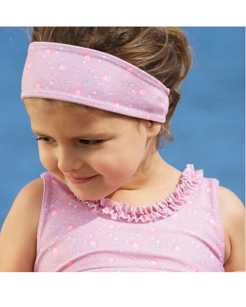 Fl Soft Rose Hairband Pe Crabe