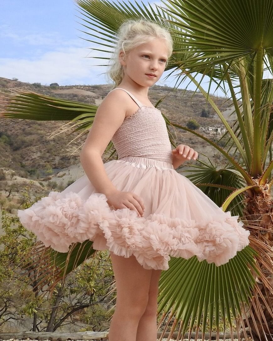 Ballet Pink Frilly Skirt Dolly By Le Petit Tom My Little