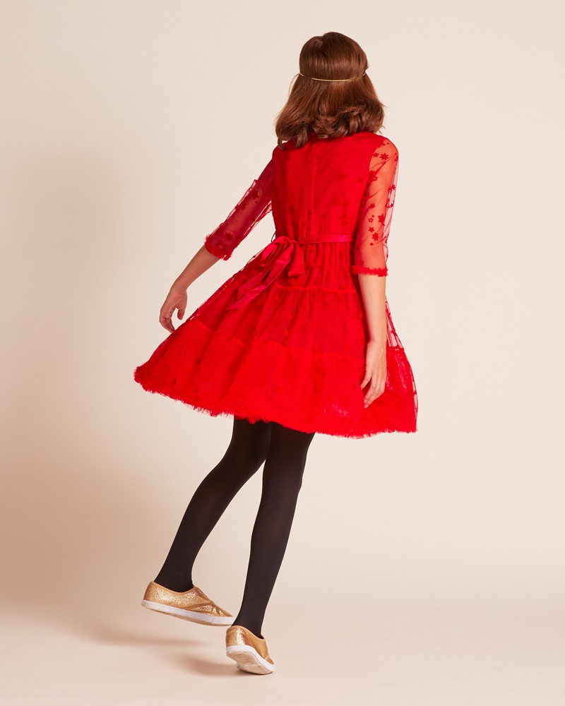 Red Rocket Dress Wild And Gorgeous Uk Mylittleceleb