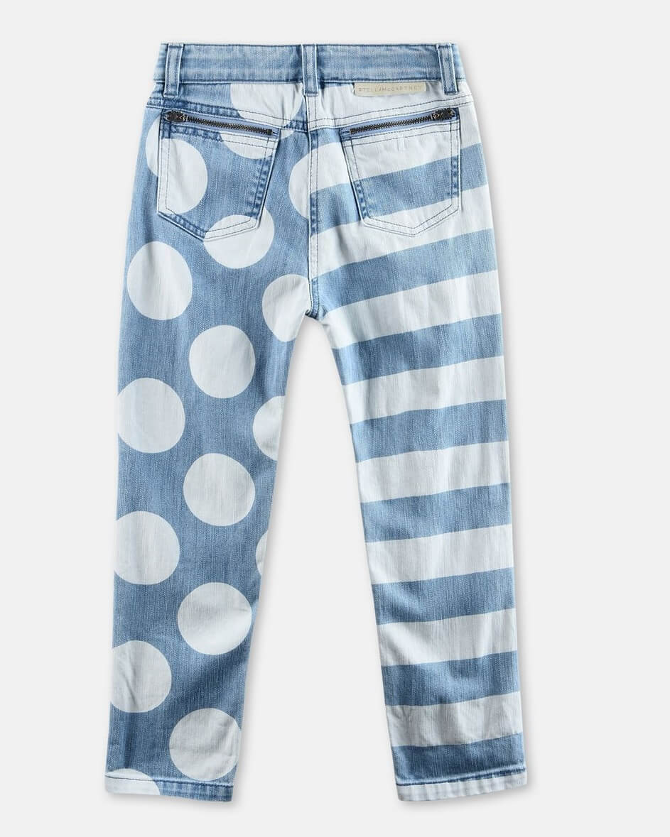 Stella McCartney Jean Lohan Stripes and Dots 2018 Unisexe Pas Cher En Ligne Lrb2rlEB