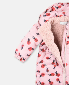Ladybird Print All-In-One Puffer 2