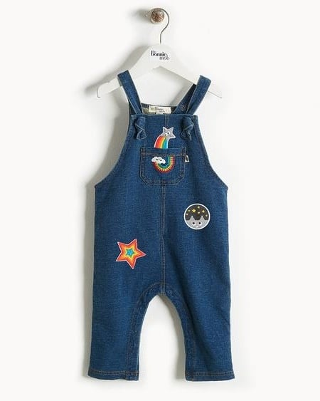 Bundles Spirited Girls 9-12 Months Dungaree Bundle